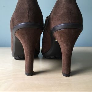 Tahari Shoes - Tahari Temple brown suede fringed shoes 8